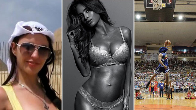 FHM's Best Of The Weekend: Costa Rican Model Shows Off Pregnancy Abs, Justin Melton's Epic (Fail) Slam, And 'Pyramid Porn'