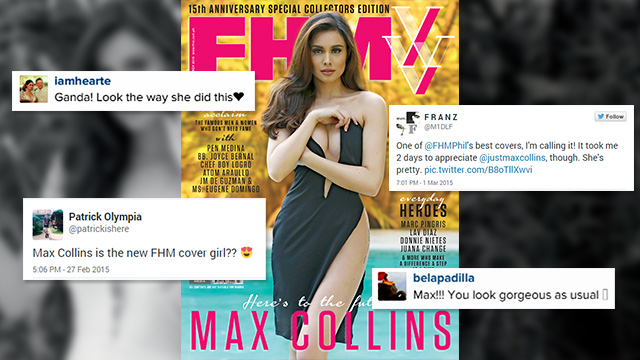 #FHMXVMax: How The Internet Reacted To Max Collins's FHM Cover!