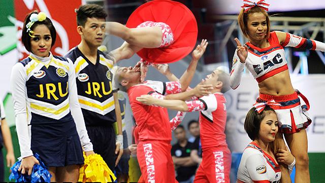 #NCAACheerleading2015: Cheerleaders Make The Funniest / Cutest Faces!
