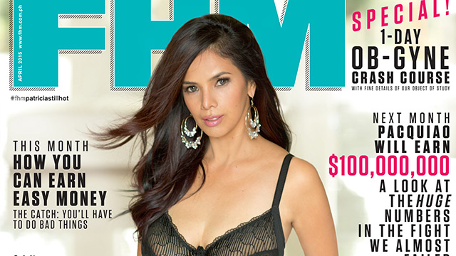 Patricia Javier Is FHM's April 2015 Cover Girl!