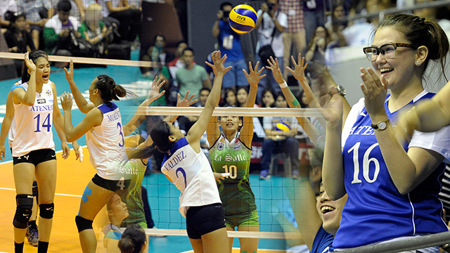 UAAP Women's Volleyball Finals: The Best Photos From Ateneo's Impressive Game One Win Over La Salle