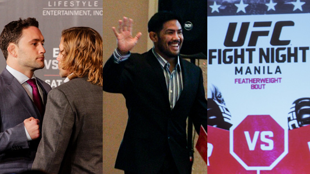 #UFCManila: Frankie Edgar And Urijah Faber Face Off, The Return Of Mark Muñoz, And The Fight Night Ticket Details!