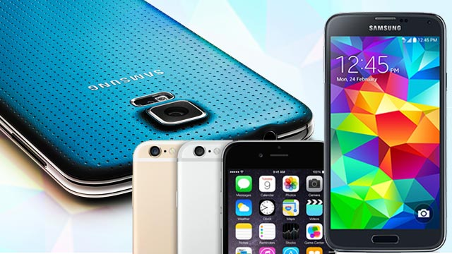 Hardware Face-Off: Samsung Galaxy S5 Vs. Samsung Galaxy S6 Vs. Apple iPhone 6