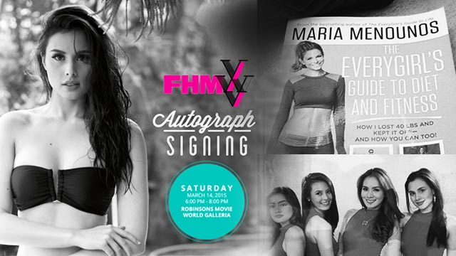 FHM Autograph Signing With Max Collins: 10 Things She Loves To Talk About