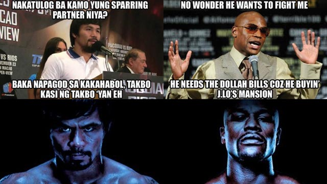 Pacquiao-Mayweather Press Conference: FHM Predicts The Trash Talk!