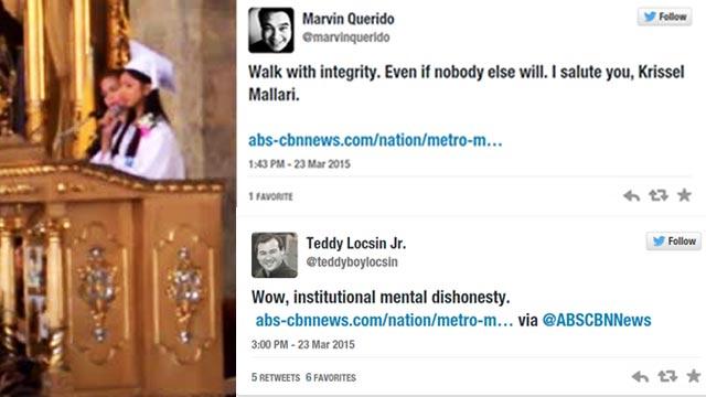 Here's What Netizens Think About The Viral Salutatorian Speech Interrupted By School Officials