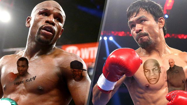 Who's Betting On Who: A Tally Of Famous People Picking #TeamPacquiao Or #TeamMayweather