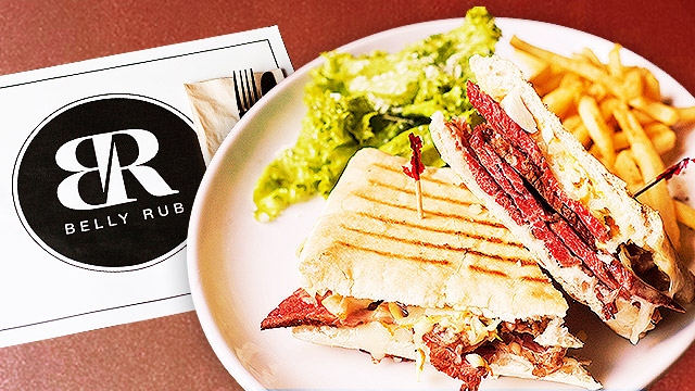 FHM Guide To Manfood: Belly Rub Serves The Best Cubano Sandwich We've Tasted
