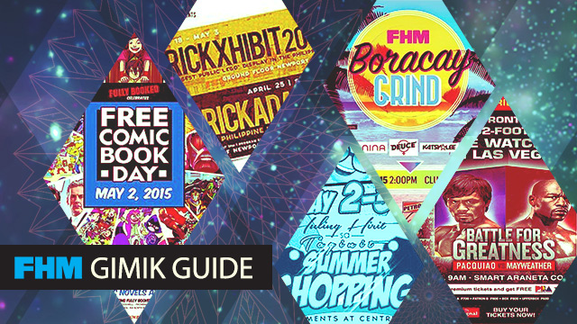 The FHM Gimik Guide: The Boracay Grind - #FightOfTheCentury Weekend