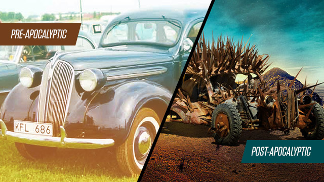 How 'Mad Max: Fury Road's' War Machines Looked Like In Their Pre-Apocalyptic Versions