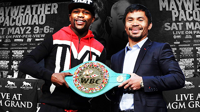 #FightOfTheCentury: The Best Quotes From Mayweather-Pacquiao's Final Press Conference