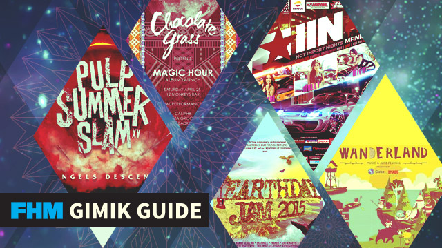 The FHM Gimik Guide: Wanderland, Pulp Summer Slam, And 100 Car Show Babes