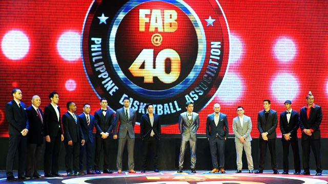 When Ballers Go Formal: FHM Goes To The PBA FAB@40 Party