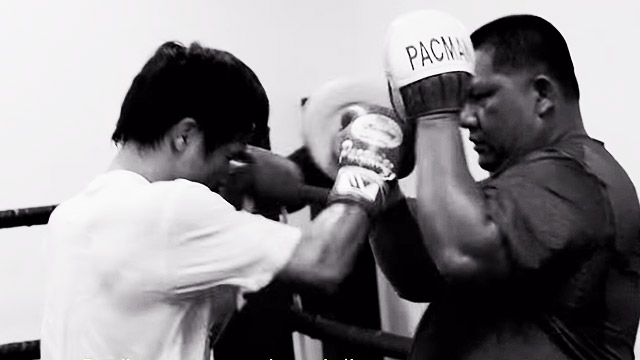 This Video Shows A Focused, Ready-To-Rumble Pacquiao—And Will Get You Even More Excited For The Big Fight!