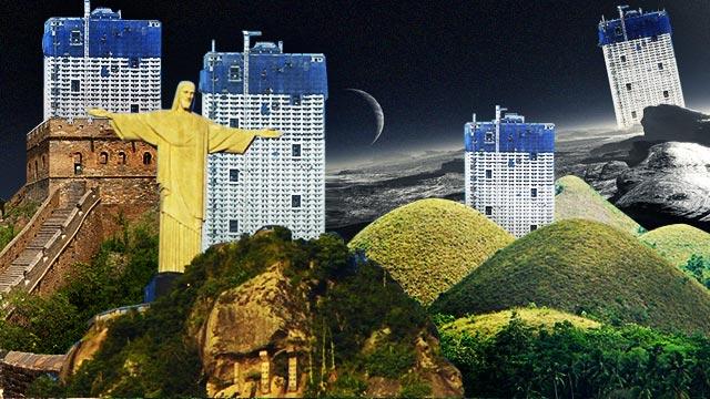 What If Torre De Manila (AKA The Pambansang Photobomber) Was Erected Somewhere Else?