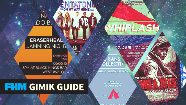 The FHM Gimik Guide: An Eraserheads Jamming Night, Pentatonix In Manila, And A WWII Docu Screening