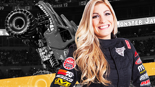 Meet The Prettiest Monster Truck Driver In The World, Cynthia Gauthier!