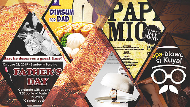 8 Dining And Staycation Promos To Give Your Dad On Father's Day
