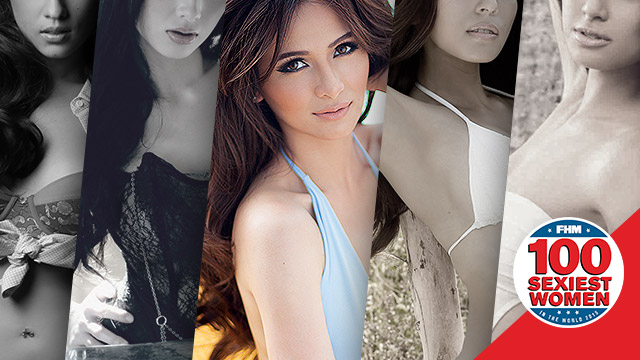 #FHM100Sexiest2015: Meet The Rest Of The Philippines' Top 5 Sexiest Women