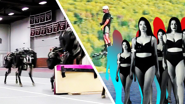 Best Of The Weekend: Sexbomb Girls Dancing To Beyonce, MIT's Terrifying Cheetah Robot & Hoverboards Are Now A Reality