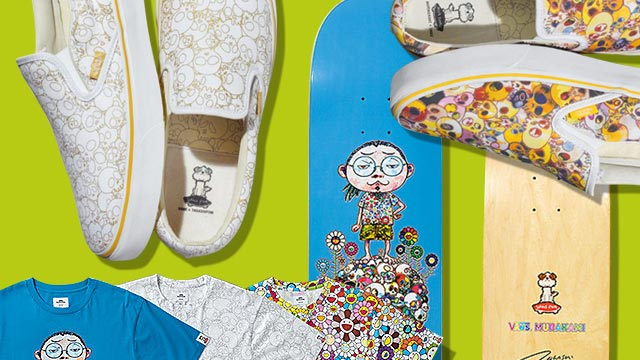 LOOK: Takashi Murakami's New Collection For Vans