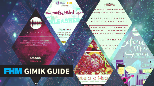 The FHM Gimik Guide: The PH's Biggest Wet Party, A Meat-All-You-Can Buffet, And A Midnight Acoustic Gig!