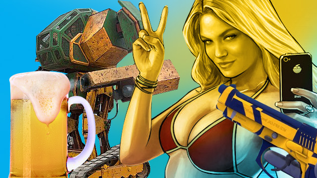 A Real-Life Giant Robot Duel, Life-Saving Boobs, And 13 Other Things A Man Must Know This Week!