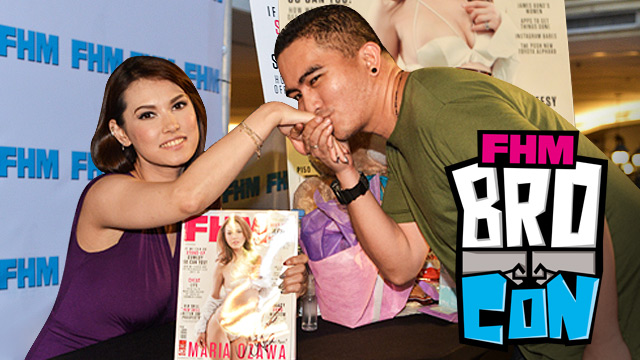 Don't Miss The FHM BroCon...Because Maria Ozawa Will Be There!