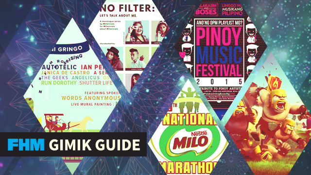 The FHM Gimik Guide: Music Festivals, A Clash Of Clans Tourney, And A Production Made For Millennials