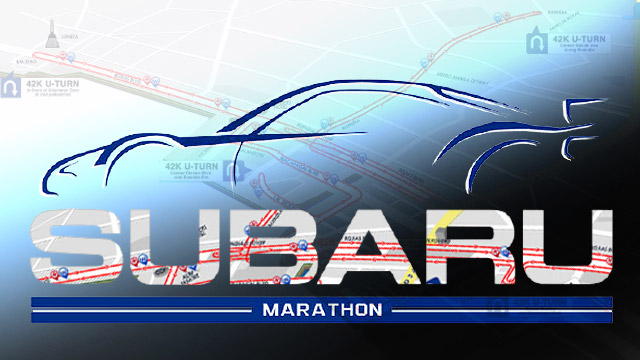 Subaru Holds Its First-Ever Marathon