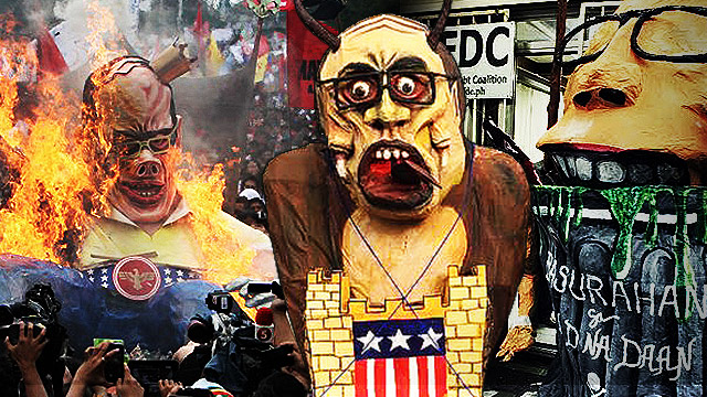 #SONA2015: Attack Of The Monstrous Effigies!
