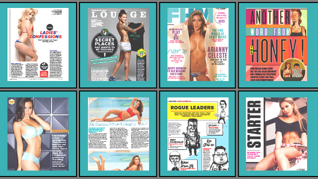 Here's What's Inside Our Knockout, Arianny Celeste-Fronted  August 2015 Issue!