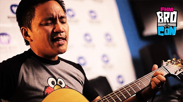 FHM BroCon: Pick The Songs You Want Ebe Dancel To Play!