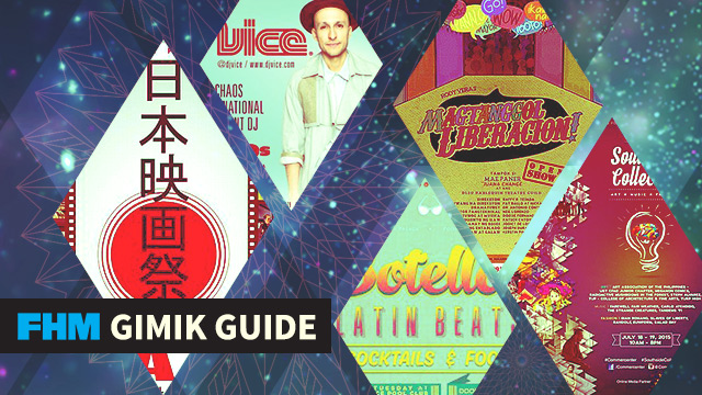 The FHM Gimik Guide: Become A Detective For A Day, Watch A Free Japanese Film Fest, And Party With DJ Vice!