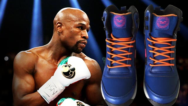 LOOK: Would You Buy Floyd Mayweather's Official Kicks?