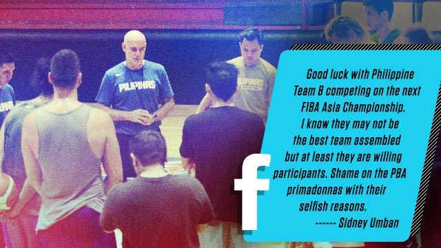 What Social Media Is Saying About The New Gilas Pilipinas 16-Man Pool