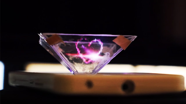 WATCH: A Step-By-Step Guide To Turning Your Phone Into A Hologram Projector