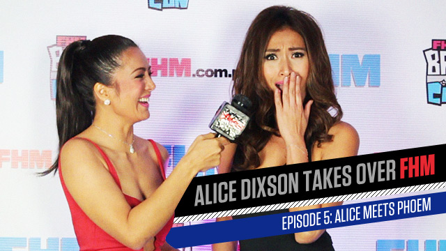 Alice Dixson Takes Over FHM: Talking Covers With Phoemela Baranda