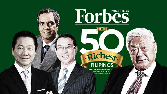 Forbes Philippines Releases Richest Pinoys List, Here Are The Top 10