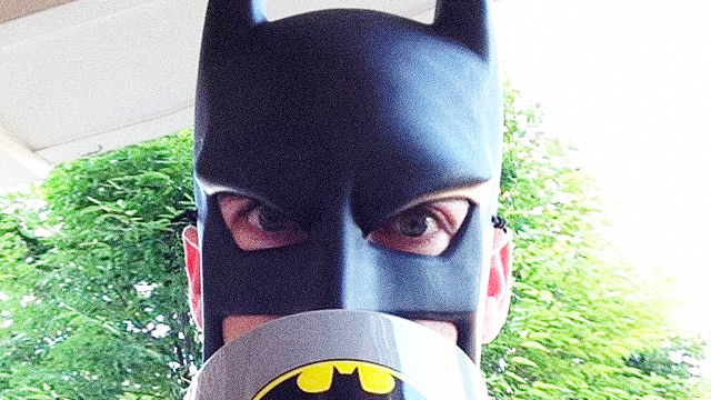 WATCH: 'BatDad' Is A Strong Contender For The Dad Of The Year Award