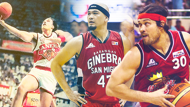 The Best Ever: Ginebra's All-Time Starting Five