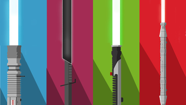 Infographic Shows The Various Types Of Lightsabers (And Who Uses Them)