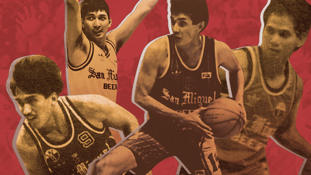 The Best Ever: San Miguel Beer's All-Time Starting Five