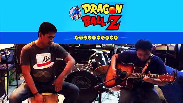 WATCH: Two Pinoys Do A Fantastic Acoustic Cover Of  Dragon Ball Z's 'Cha-La Head-Cha-La'