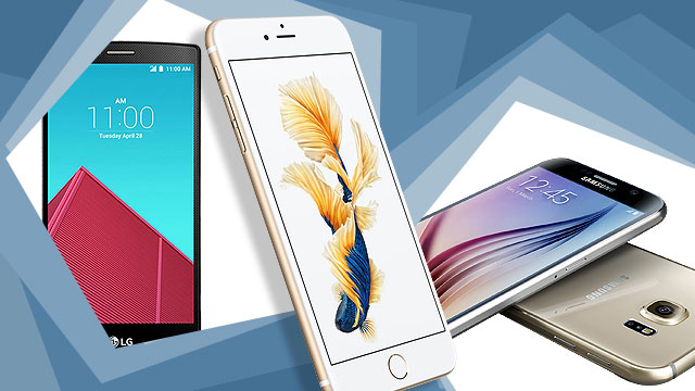 HARDWARE WARS: The iPhone 6s Vs. Android Superphones