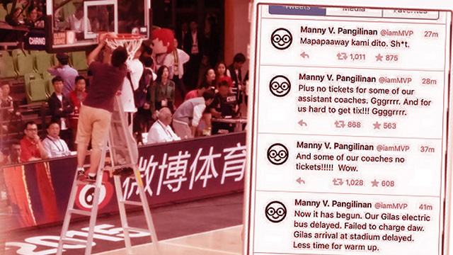 How Team China (Allegedly) Threw Gilas Pilipinas Off Its Game