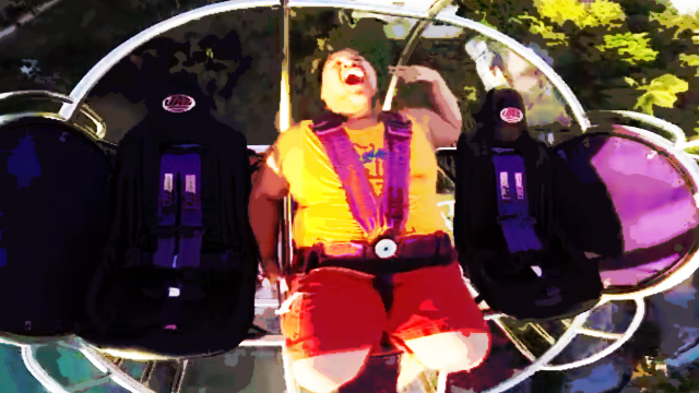 WATCH: The Most Hilarious Reaction To Boracay's Extreme Slingshot Ride, The G-Max!