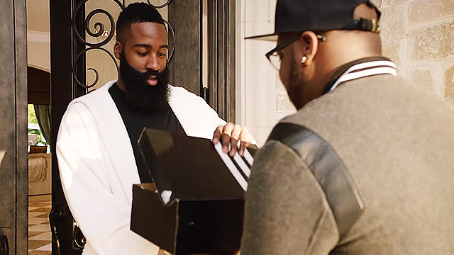 adidas Just Welcomed James Harden With A Truck Filled With Sneakers