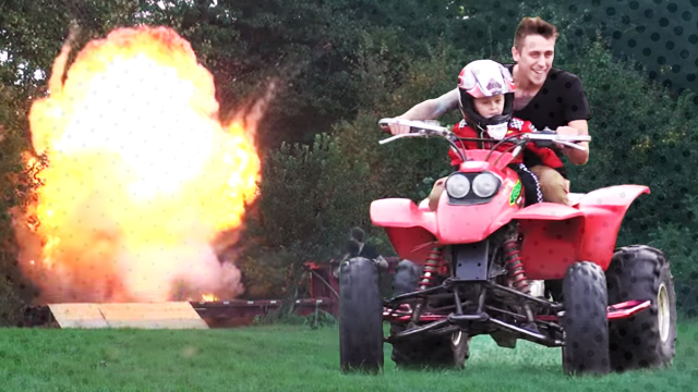 WHOA: Evil Dad 'Blows Up' Son Just To Prank His Wife