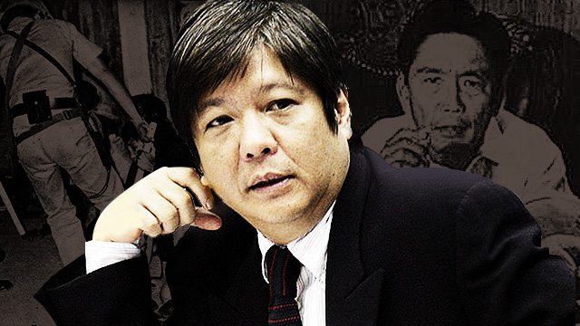 Senator Bongbong And The Ghost Of Marcos Past